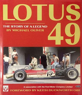 Michael Oliver, Lotus 49, The story of a legend, Veloce Publishing, Dorchester, 1999